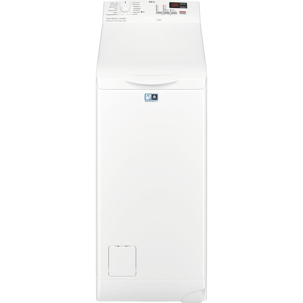 AEG Waschmaschine Toplader »L6TB40260«, 6000, L6TB40260, Nachlegefunktion