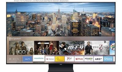 "Samsung QLED-Fernseher »GQ75Q90T«, 189 cm/75 "", 4K Ultra HD, Smart-TV kaufen"
