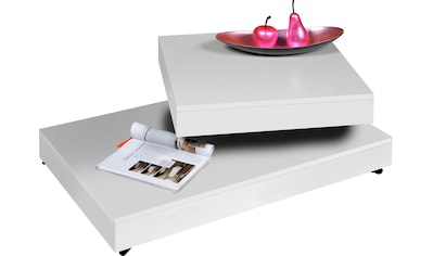 INOSIGN Couchtisch, mit Funktion, drehbare Tischplatte, auf Rollen kaufen