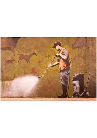 Art & Pleasure Acrylglasbild »Cleanmaster«, Tiere-Menschen kaufen