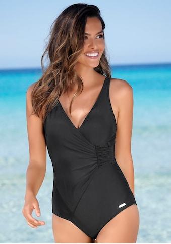 LASCANA Badeanzug, Mit seitlicher Raffung kaufen