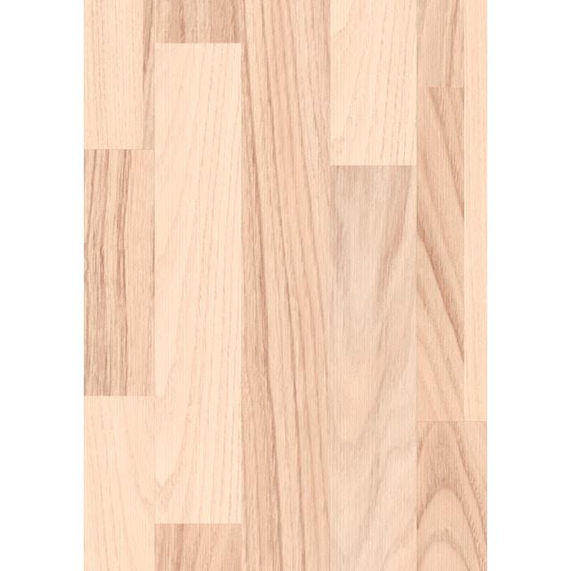 EGGER Laminat »EGGER HOME Esche weiß«, 1292 x 192 mm, Stärke: 7 mm