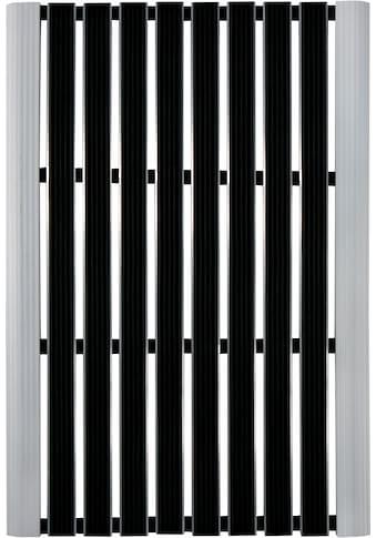 Andiamo Fußmatte »Alu-Türmatte Exclusive«, rechteckig, 10 mm Höhe, Schmutzfangmatte,... kaufen