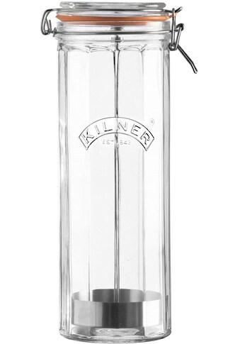 KILNER Vorratsglas, (1 tlg.), für Spaghetti, spülmaschinengeeignet, 2 Liter kaufen