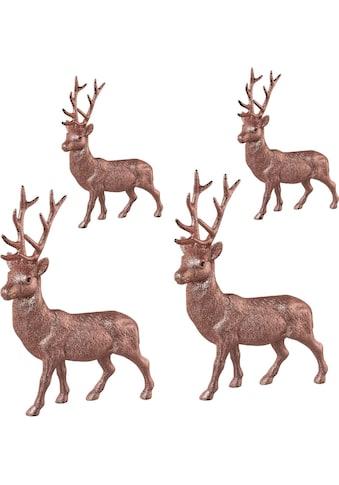 Tierfigur »Hirsche« (Set, 4 Stück) kaufen