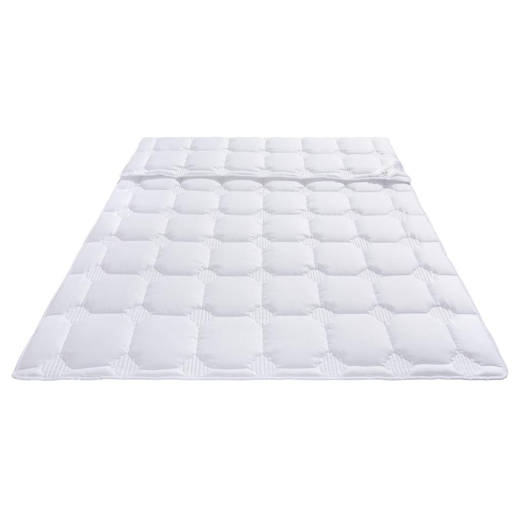 DELAVITA Microfaserbettdecke »Memel«, normal, Bezug Polyester, (1 St.), mit antibakterieller Veredelung Sanitized® ausgerüstet