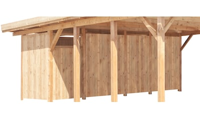 Kiehn - Holz Geräteraum BxT: 540x173 cm nur für Carport KH 103/105, grün kaufen
