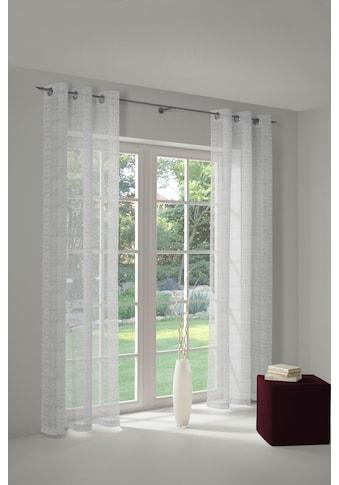 Vorhang, »Patricia«, Wirth, Ösen 1 Stück kaufen
