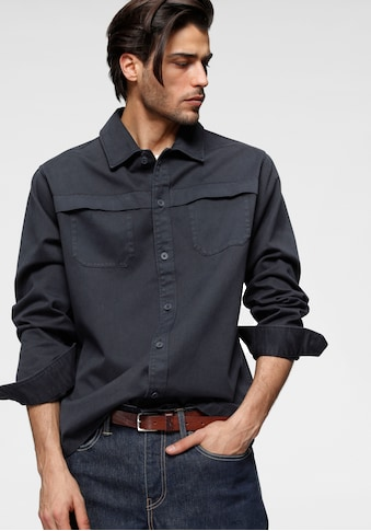 Esprit Langarmhemd »Overshirt«, mit Brusttaschen kaufen