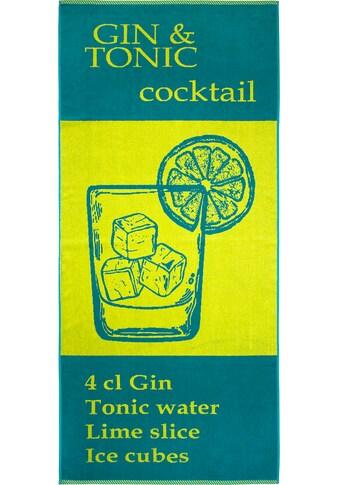Dyckhoff Strandtuch »Cocktail«, (1 St.) kaufen