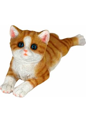 Casa Collection by Jänig Tierfigur »Katze braun, liegend, L 34 cm« kaufen