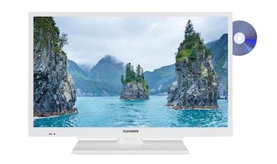 Telefunken LED - Fernseher (22 Zoll, Full HD, DVB - T2 HD, DVD) »XF22G101D - W« kaufen