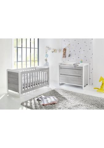 Pinolino® Babymöbel-Set »Curve«, (Spar-Set, 2 St.), breit; mit Kinderbett und... kaufen