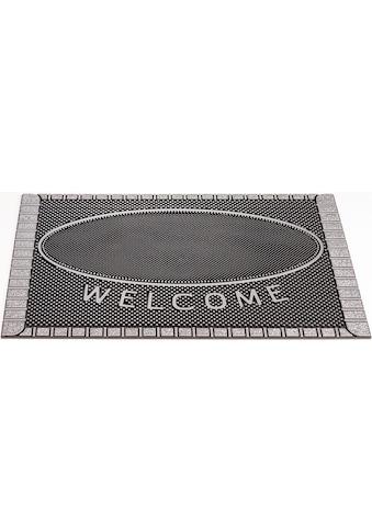 CarFashion Fußmatte »SC Clean Welcome«, rechteckig, 8 mm Höhe, Schmutzfangmatte, mit... kaufen