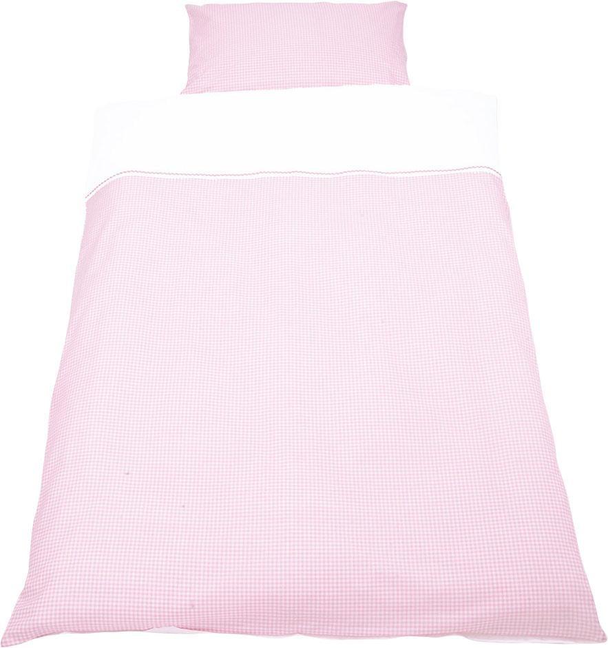 Babybettwäsche »Vichy-Karo«, Pinolino® | Kinderzimmer > Textilien für Kinder > Kinderbettwäsche | Rosa | Baumwolle - Ab | PINOLINO