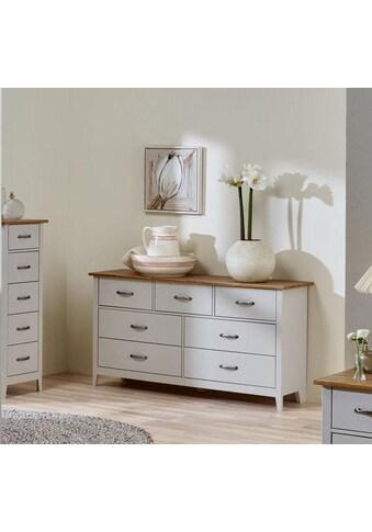 Home affaire Kommode »Norfolk«, mit 7 Schubladen, Breite 143 cm kaufen