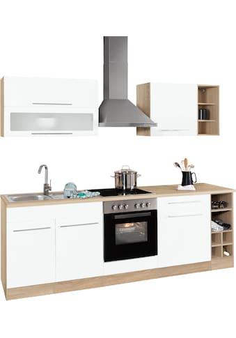HELD MÖBEL Küchenzeile »Eton«, mit E-Geräten, Breite 240 cm kaufen