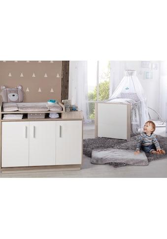 roba® Babymöbel-Set »Olaf«, (Spar-Set, 2 St.), mit Kinderbett & Wickelkommode; Made in... kaufen