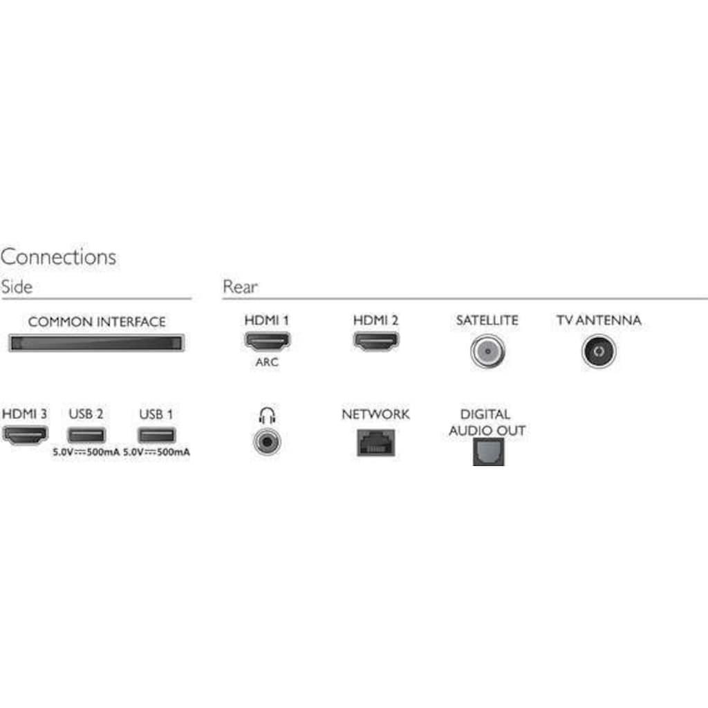 """Philips LED-Fernseher »43PFS6805/12«, 108 cm/43 """", Full HD, Smart-TV"""