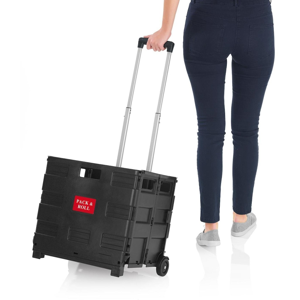 EASYmaxx Einkaufstrolley, zusammenklappbar
