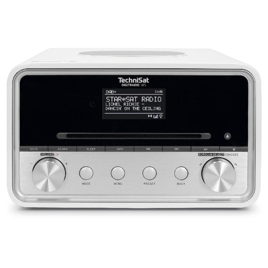 TechniSat Digitalradio (DAB+) »DIGITRADIO 585«, (Digitalradio (DAB+)-Internetradio), Wireless-Charging-Funktion
