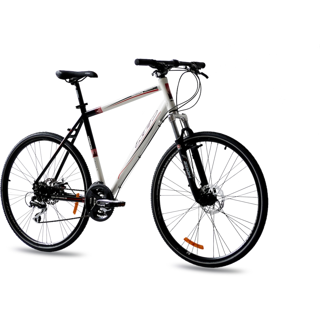 KCP Crossrad »Urbano Crossline 2.0 Gent«, 24 Gang, Shimano, Deore RD-M591-SGS Schaltwerk, Kettenschaltung, (1 tlg.)