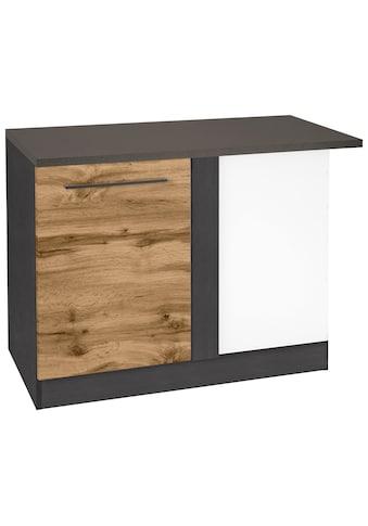 HELD MÖBEL Eckunterschrank »Tulsa«, 110 cm breit, 1 Tür, schwarzer Metallgriff,... kaufen