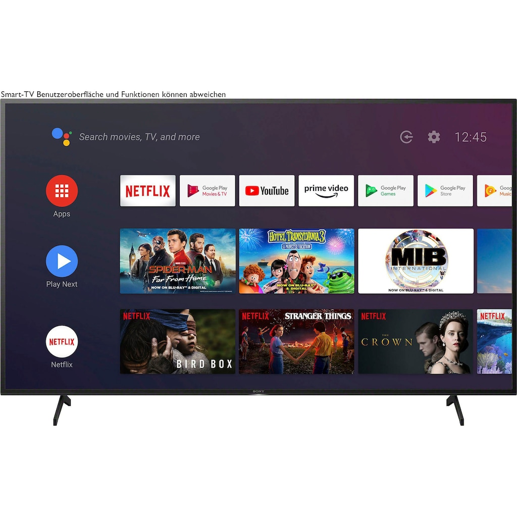 "Sony LED-Fernseher »KE-75XH8096«, 189 cm/75 "", 4K Ultra HD, Android TV-Smart-TV"