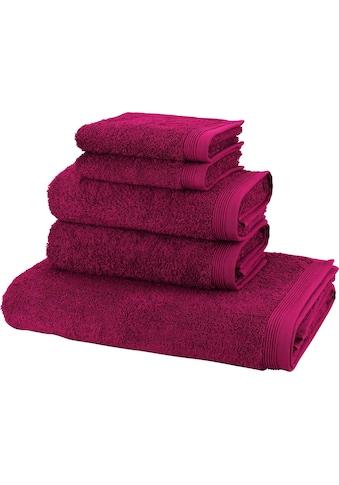 Handtuch Set, »Basic«, Möve (Set) kaufen