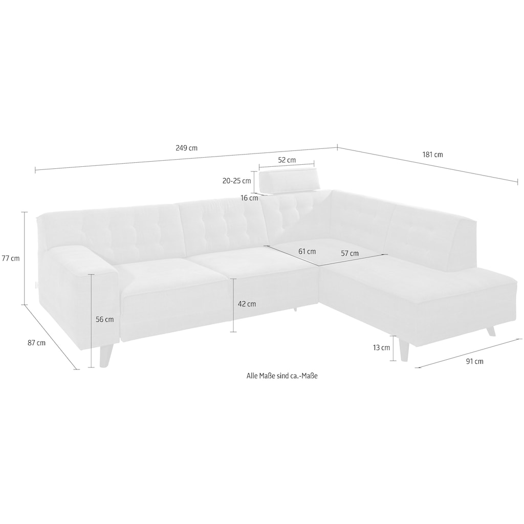 TOM TAILOR Ecksofa »Nordic Chic«