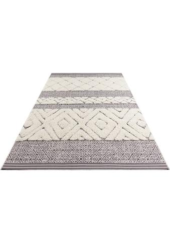 Teppich, »Todra«, MINT RUGS, rechteckig, Höhe 22 mm, maschinell gewebt kaufen
