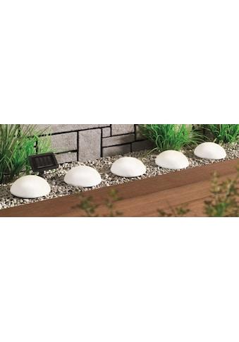 BONETTI LED Gartenleuchte »Solar Halbkugeln - 5er-Set«, LED-Board, Warmweiß, mit... kaufen