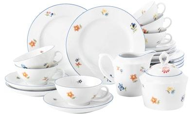 Seltmann Weiden Teeservice »Sonate Nostalgie«, (Set, 20 tlg., 6 Teetassen 0,14 l 6... kaufen