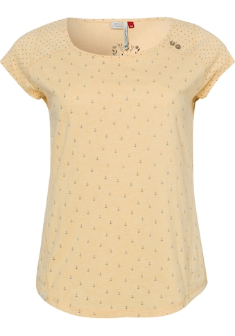 Ragwear Plus Print-Shirt »ROSANNA PLUS«, mit maritimen Anker-Allover-Druck kaufen
