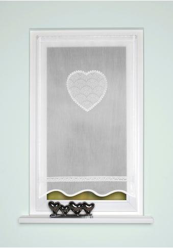 HOME WOHNIDEEN Türvorhang »CORAZON«, Tür-und Fensterbehang, Batist, bestickt kaufen