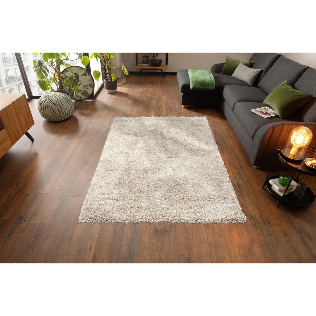 merinos Hochflor-Teppich »Nexus Shaggy«, rechteckig, 55 mm Höhe