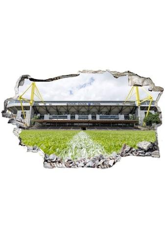 Wall-Art Wandtattoo »BVB Signal Iduna Park bei Tag« kaufen