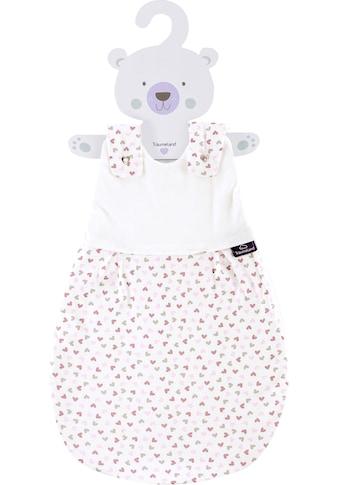 Träumeland Babyschlafsack »Außenschlafsack Herz rosa«, (1 tlg.) kaufen