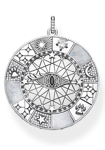 THOMAS SABO Kettenanhänger »Amulett mystische Symbole, PE854-642-18«, mit Perlmutt und... kaufen