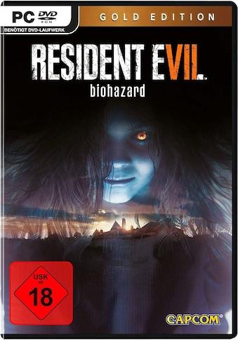 Capcom Spiel »PC Resident Evil 7 Biohazard Gold Edition«, PC kaufen
