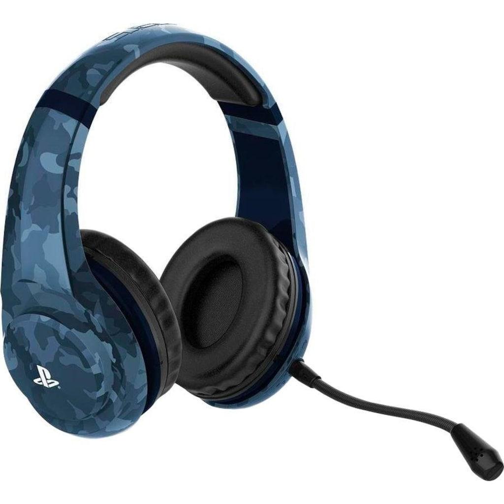 4Gamers Gaming-Headset »PRO4-70 Camo Midnight Edition«, Mikrofon abnehmbar