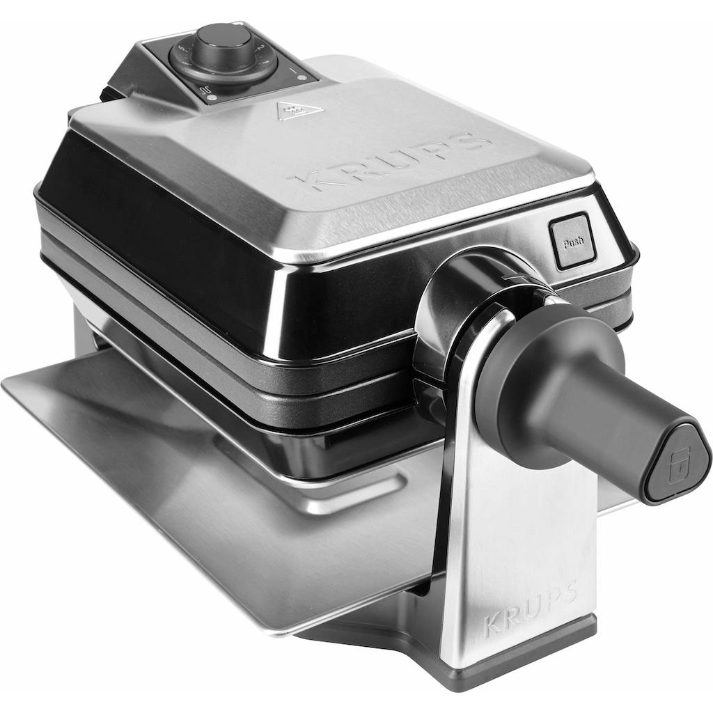 Krups Waffeleisen »FDD95D Professional«, 1200 W, Backraum drehbar