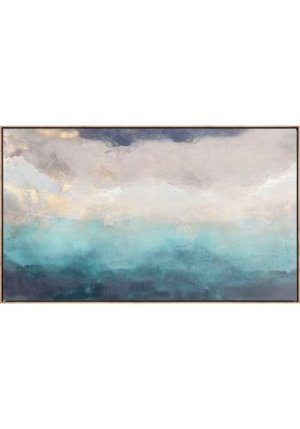 Reinders! Leinwandbild »Abstrakt Blau - Leinwandbild« kaufen