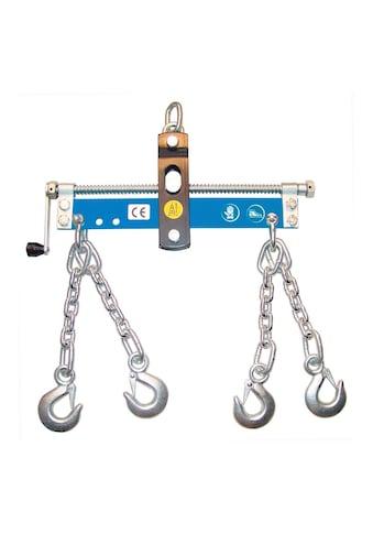 GÜDE Werkstattkran - Balancer mit Handkurbel, 4 Ketten mit Sicherheitshaken kaufen
