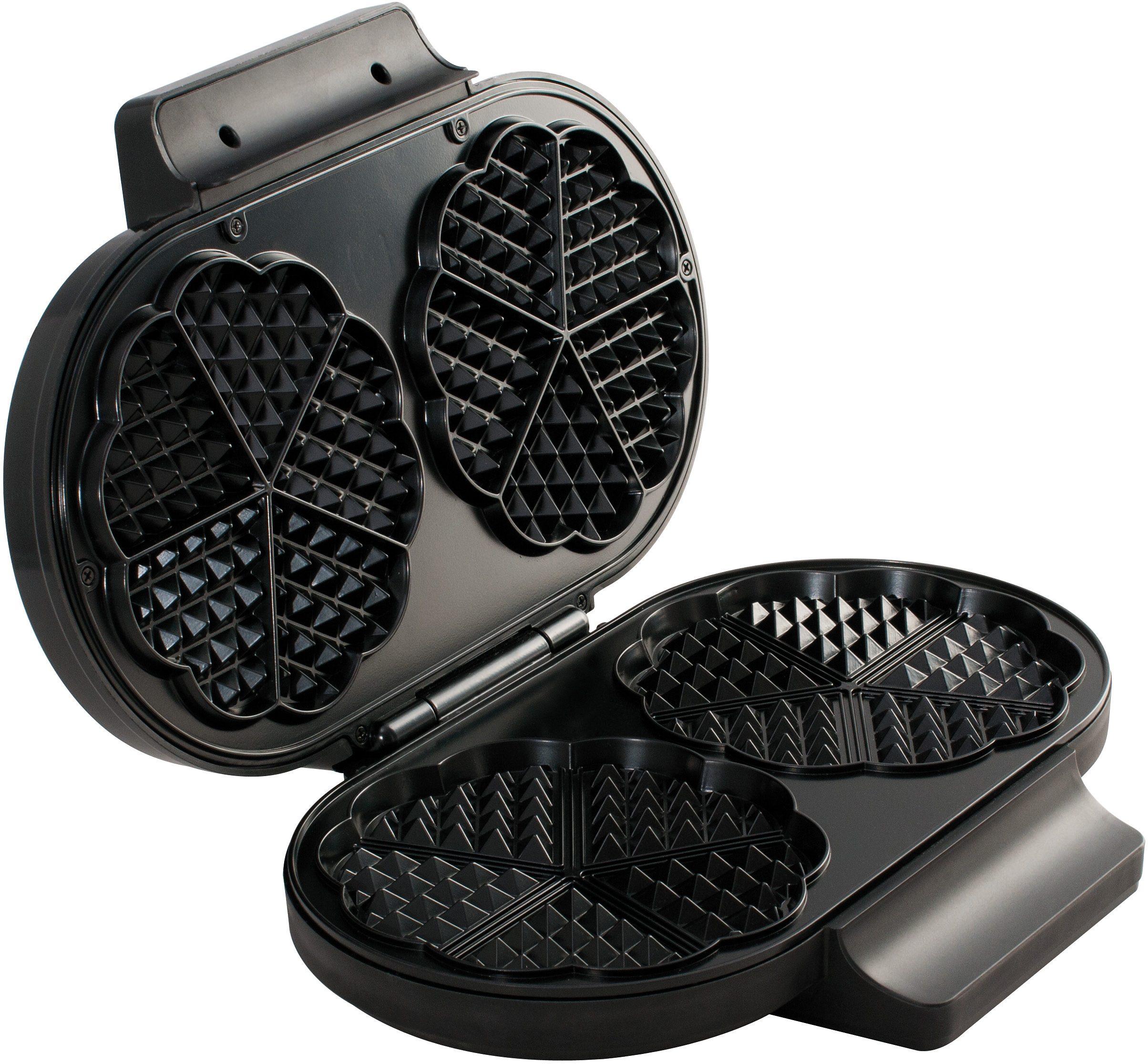 MIA Waffeleisen WA 6064, 1300 Watt | Küche und Esszimmer > Küchengeräte > Waffeleisen | MIA