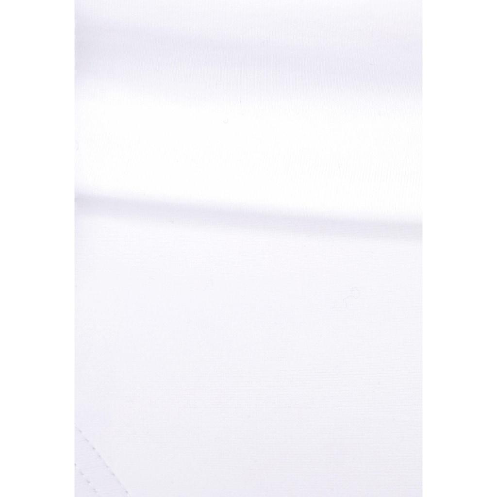 Bench. Bügel-Bandeau-Bikini, mit buntem Flechtdetail