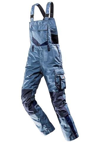 BULLSTAR Latzhose »WorXtar«, Arbeitshose, taubenblau/marine, Gr. 42  -  74 kaufen