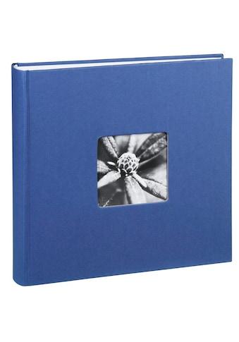 Hama Jumbo Fotoalbum 30 x 30 cm, 100 Seiten, Album, Blau kaufen