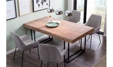 SalesFever Esstisch, mit Design Kufen-Gestell kaufen