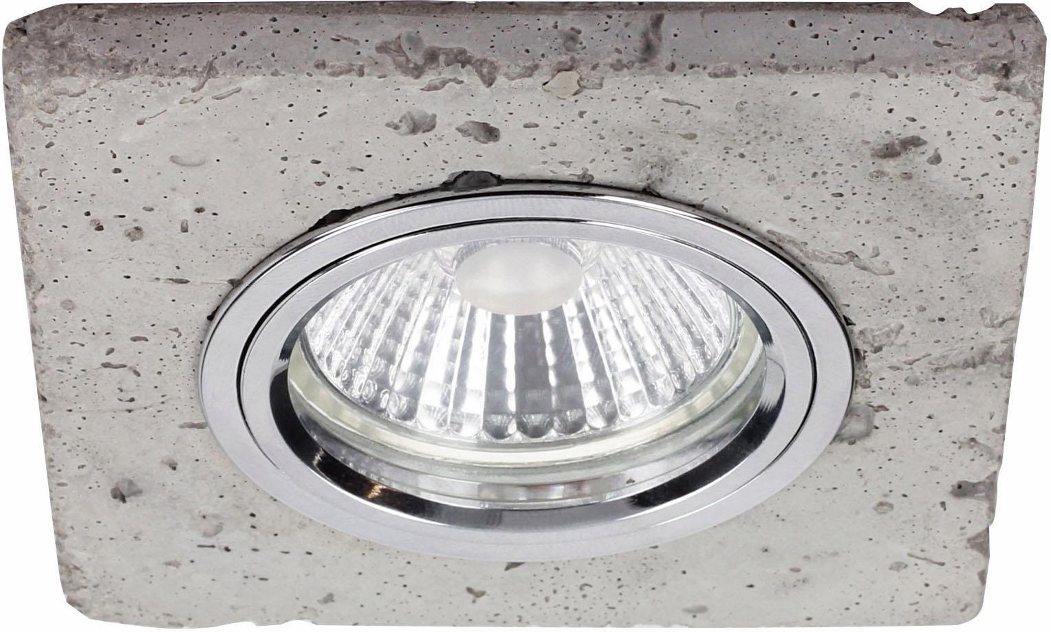 SPOT Light,LED Einbaustrahler»LEDSDREAM«, | Lampen > Strahler und Systeme > Einbaustrahler | Grau | Metall - Beton | SPOT LIGHT